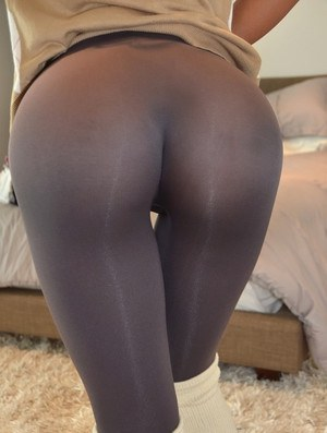 teen pussy in spandex