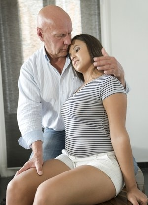 Old Man and Teen Pics